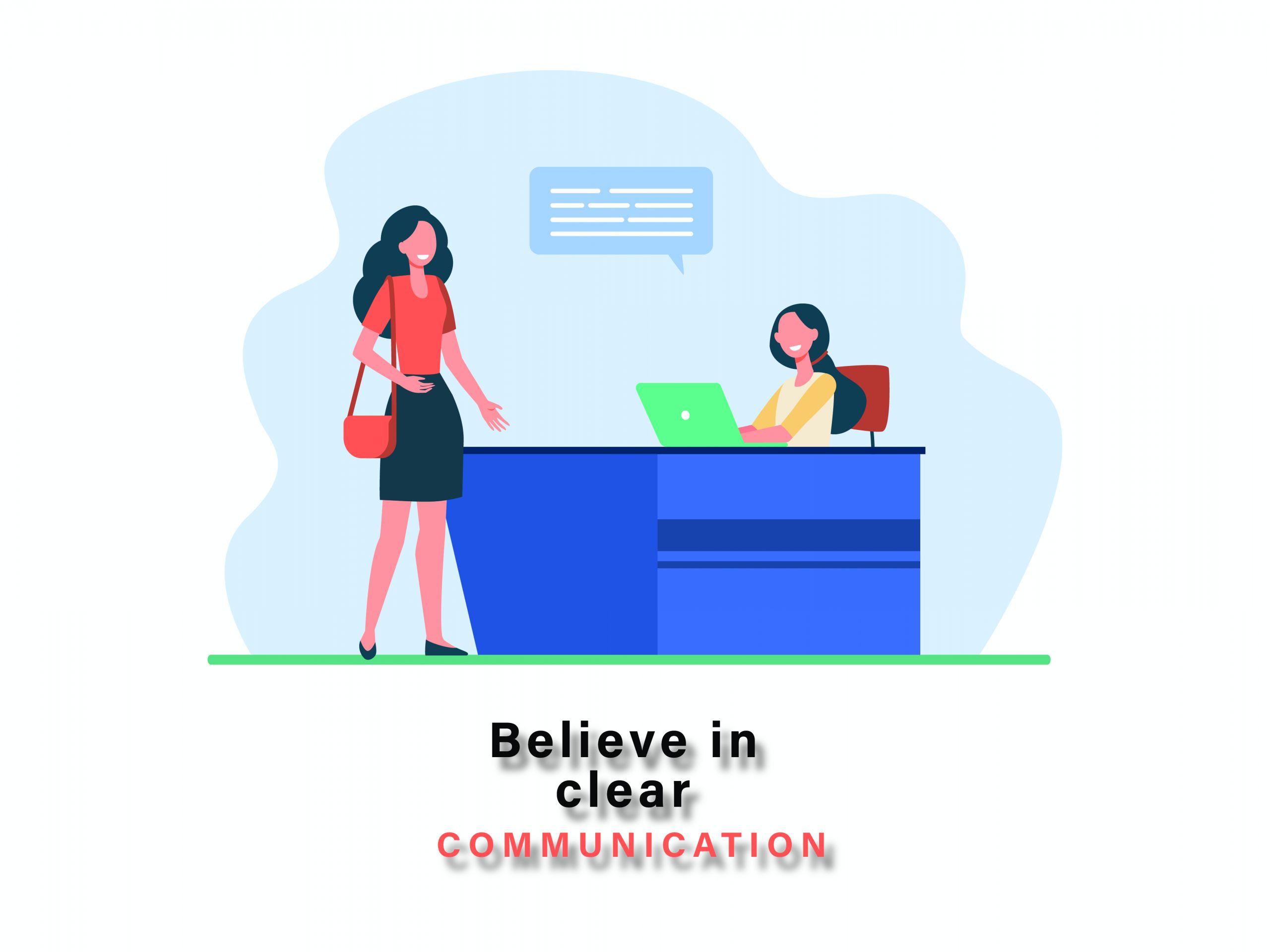 believe in clear communication-01