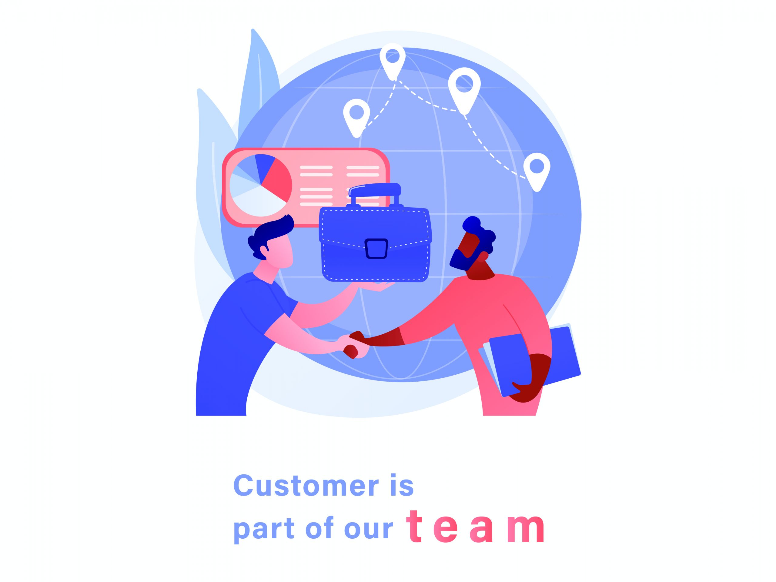 customer is part of our team
